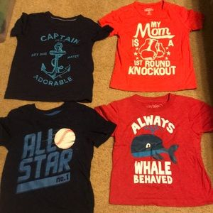 Other - 4t boys shirts